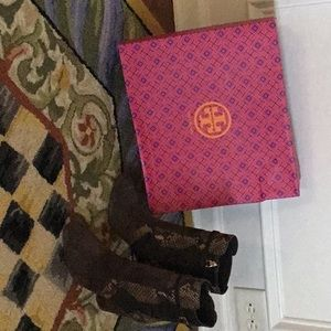 Woman's 8.5 Tory Burch brown boots.  Brand new.